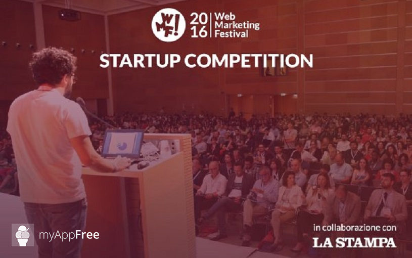 Web Marketing Festival 2016: myAppFree tra i 6 finalisti